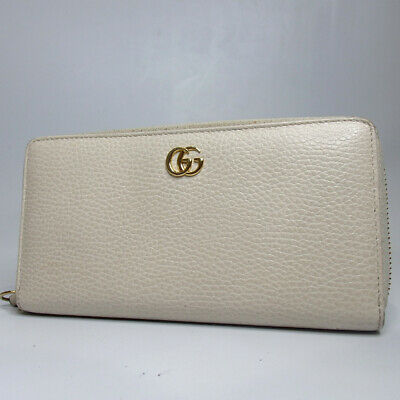 8918b41f79c2 AUTHENTIC GUCCI GG Petit Marmont Round Zip purse leather[Used ...