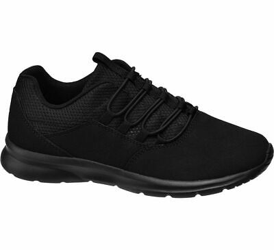 DEICHMANN SHOES VTY women Ladies Lace up Trainers black New