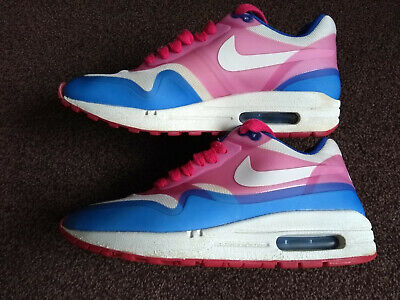 c28ef30832 Nike Air Max 1 Premium Hyperfuse trainers in hyper blue/sail pink, U.K size