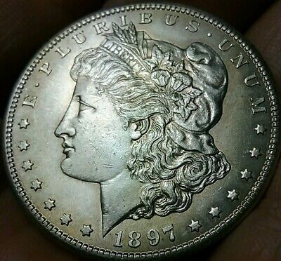 1897 S Morgan One Dollar United States of America Very Good Condition ch896