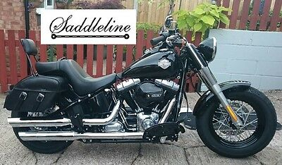 BLACKLINE AND SOFTAIL Slim T Signal and License Plate