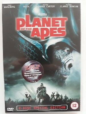 Planet Of The Apes / Uk Release / Double Dvd / Region 2