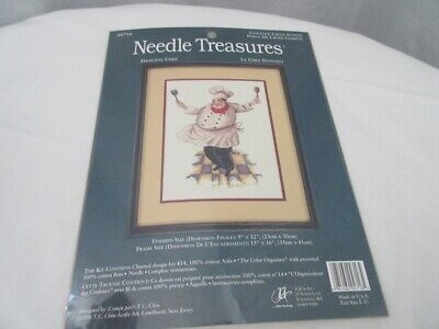Needle Treasures Counted Cross Stitch Kit  ~ Dancing Chef  # 04716