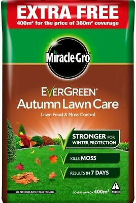 Miracle-Gro Evergreen Autumn Lawn Care 360m2 +10% Extra  Lawn Food 119697