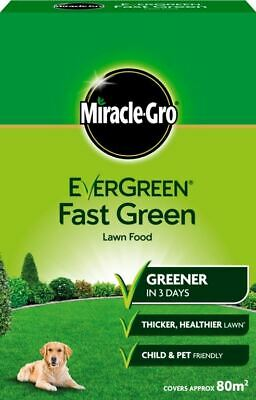 Miracle-Gro Evergreen Fast Green 80m2 Box  Lawn Food 119684