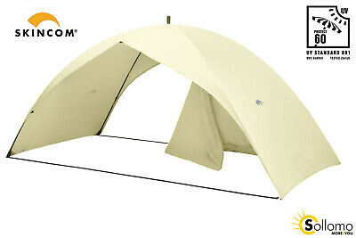 Skincom Easy for Two Shell UV60 beige Sonnenzelt Strandmuschel Strandzelt
