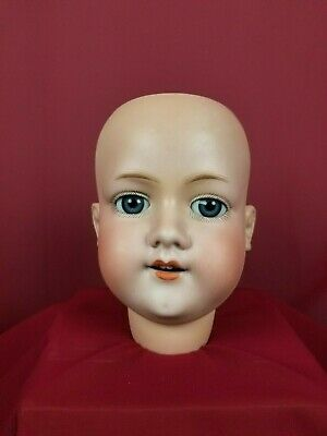 Antique Large German Armand Marseille 390 Bisque Socket Head Doll A 11 M