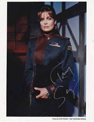 BABYLON 5 CAPT LOCHLEY TRACY SCOGGINS # 3 hand signed