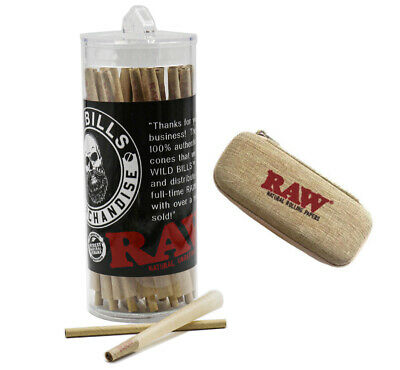 RAW 98 SPECIAL Pre-Rolled Cones (50 Pack)AUTHENTIC+ raw Cone Wallet