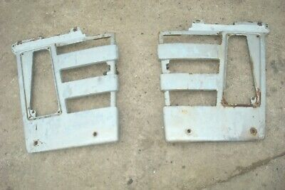 1969 Massey Ferguson 1130 Tractor Front Side Grill Panels 1100