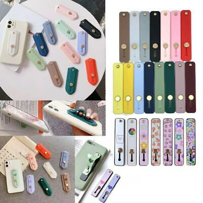 Self-adhesive Finger Grip Strap Phone Holder Kickstand for iPhone/iPad/Tablets