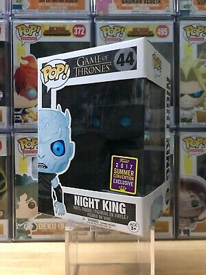 2017 FUNKO POP GAME OF THRONES NIGHT KING 44 TRANSLUCENT EXCLUSIVE arya stark