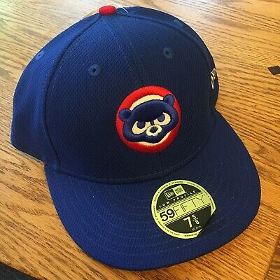 brand new b860b a3ed4 Chicago Cubs New Era 59FIFTY Fitted MLB Hat - Royal Blue Diamond Low  Profile NWT