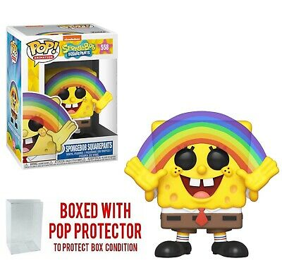 Funko POP! Animation Spongebob Squarepants #558 Collectible Vinyl Figure w/ Case