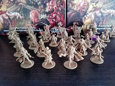 Choose your Zombicide Hero!!! Zombicide Black Plague or Zombicide Green Horde