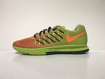 outlet store e3bef 5b1dc NIKE WOMENS ZOOM Pegasus 23 Sz 9 Green & Orange Athletic Running Shoes