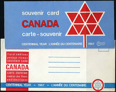 1967 CANADA SOUVENIR COLLECTION CARD 9 --- Centenary Edition + original envelope