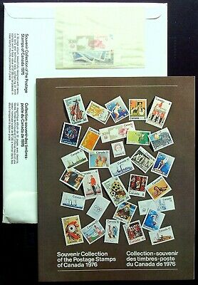 1976 Canada ANNUAL SOUVENIR COLLECTION 19 CV $85 - RARE Large Softcover Edition