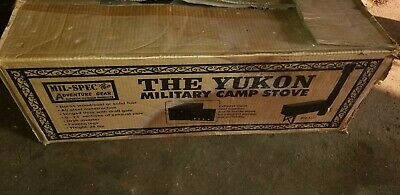YUKON M-1950 MILITARY Multi-Fuel TENT CAMP STOVE HEATER RARE HARD TO FIND : m1950 tent stove - afamca.org