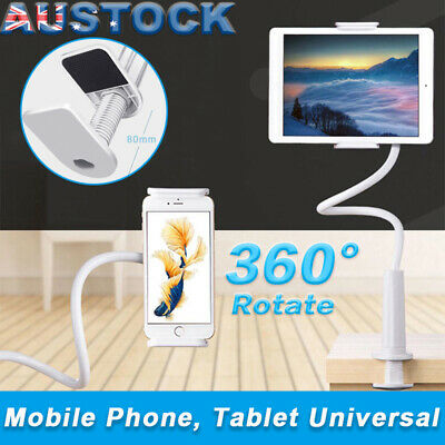 360°Rotating Tablet Stand Holder Lazy Bed Desk Mount iPad Air iPhone Samsung AU