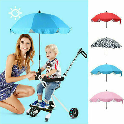UK Universal Stroller Buggy Umbrella Sun Shade Kids Baby Parasol Pram Pushchair