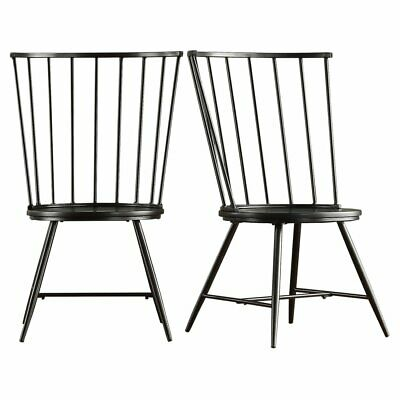 Chelsea Lane High Back Windsor Dining Side Chair - Set of 2