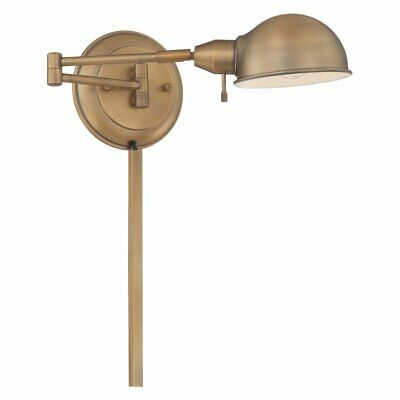 Lite Source LS-16753AB Rizzo Swing-Arm Wall Sconce