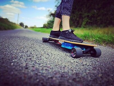 Electric Longboard Skateboard Diy With Remote Control And
