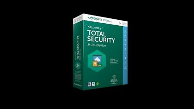 KASPERSKY TOTAL SECURITY 2018 2019 1 PC 1 year / EUROPE / 1 Device