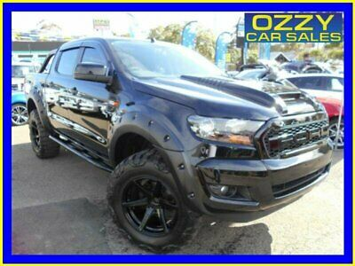 2018 Ford Ranger PX MkII MY18 XLS 3.2 (4x4) Shadow Black Automatic 6sp A