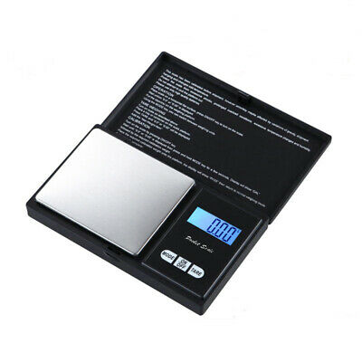 Portable 1000g x 0.01g Digital Scale Jewelry Pocket Balance Gram LCD Herb Gold
