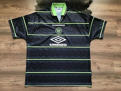 Vintage Celtic Scotland 1998/1999 Away Football Shirt Jersey Maglia Umbro
