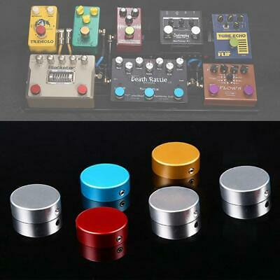 Electric Guitar Pedal Foot Nail Cap Foot Switch Aluminum With Wrench And Screw