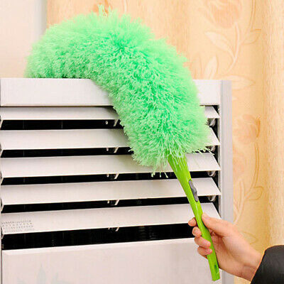 Home Feather Duster Anti Static Dust Brush Soft Microfiber Cleaning Dusters N2CX