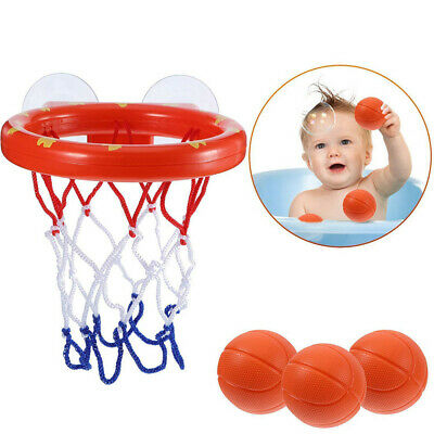 Baby Kids Bath Toys Basketball Hoop & Ball Bathtub Water Play Set for Toddler