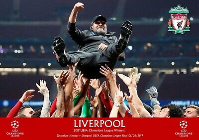 Liverpool champions league poster - KLOPP #6- A3 - 297mm x 420mm NEW