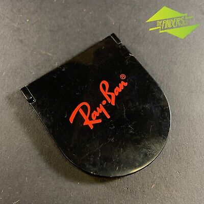 Vintage Ray-Ban Sunglasses Promotional Advertising Compact Mirror Makeup