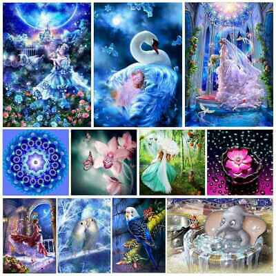5D Diamond Painting Embroidery Cross Stitch Pictures Craft Kit Mural Decor lot U