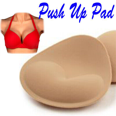 Womens Foam Insert Breast Bra Padded Push Up Bikini Bust Enhancer 1-5 Pairs