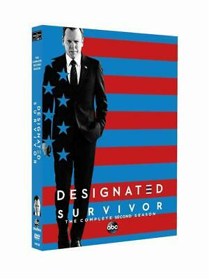 Designated Survivor Season 2 DVD - Brand New - Freepost