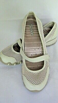 2033f251f75 SKECHERS SPORT WOMENS BIKERS DISCO SNEAKERS SHOES OFF WHiTE * EXCELLENT  CONDIT!
