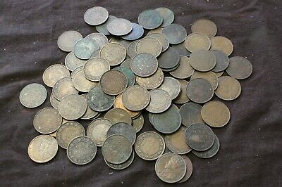 Canada Large Cent Lot Mixe Victoria , Edward George V,  Maritime Large Cent Lot