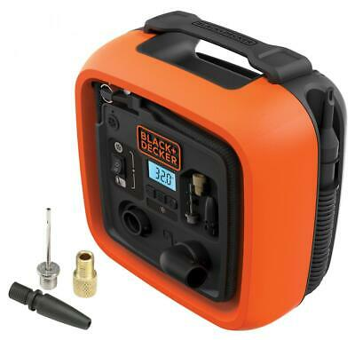 Black & Decker ASI400 COMPRESSORE PORTATILE 11 BAR 12 V