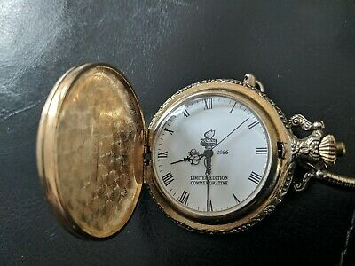 Modern Professional Sale Statue Of Liberty Limited Edition Commemorative 1886-1986 Quartz Pocket Watch Pocket Watches