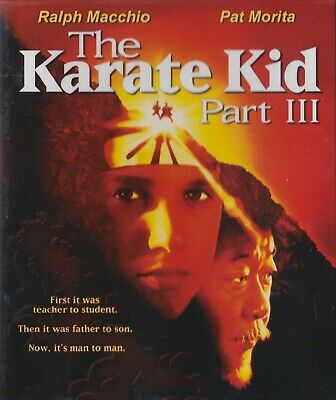 The Karate Kid Part Iii (1989) - Blu-Ray - New Sealed
