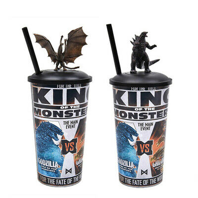 Godzilla 2019 King of the Monsters Ghidorah Topper Cup Movie Exclusive Theater