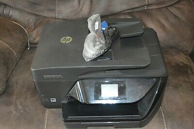 HP OFFICEJET PRO 6978 All IN ONE InkJet Printer P/N T0F29A