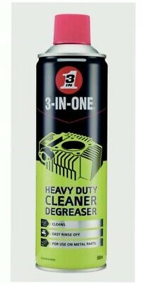 De Greaser Professional Heavy Duty Cleaner 3 IN ONE 500ml NEW