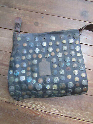 Antique Money Changers Bag Islamic Arabic Middle East Coin Decorated