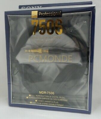 Brand New Sony MDR7506 Professional Large Diaphragm Headphone (MDR-7506)